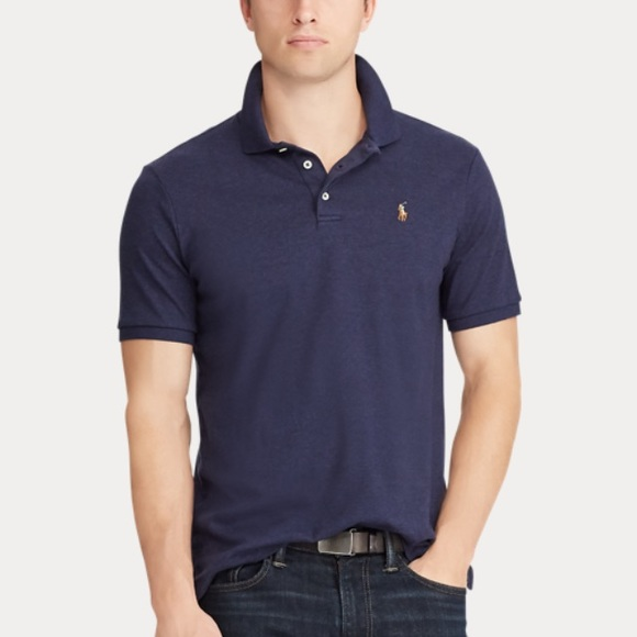 mens navy ralph lauren polo shirt